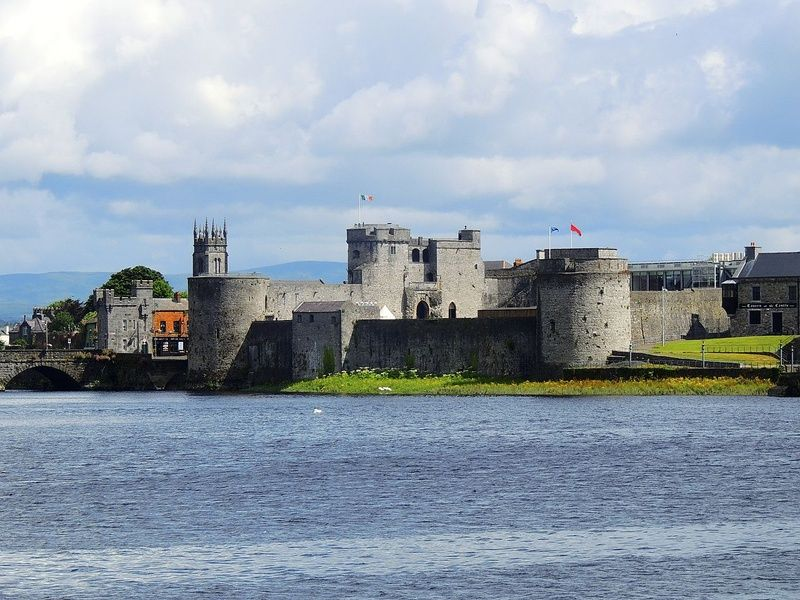 Visiting King John's Castle is an awesome thing to do in Limerick