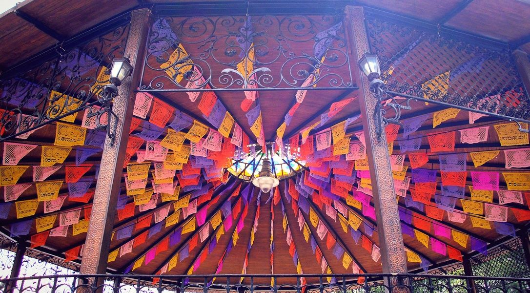 Colorful Coyoacan is one of the best neighborhoods in Mexico City to stay