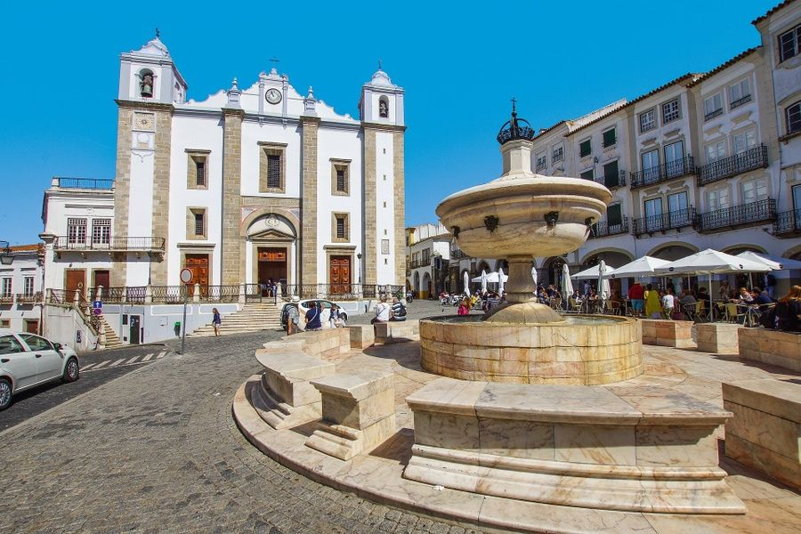 Evora is an excellent place to visit in Portugal