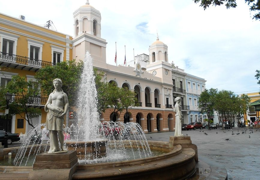Plaza de Armas is one of the top attractions in San Juan