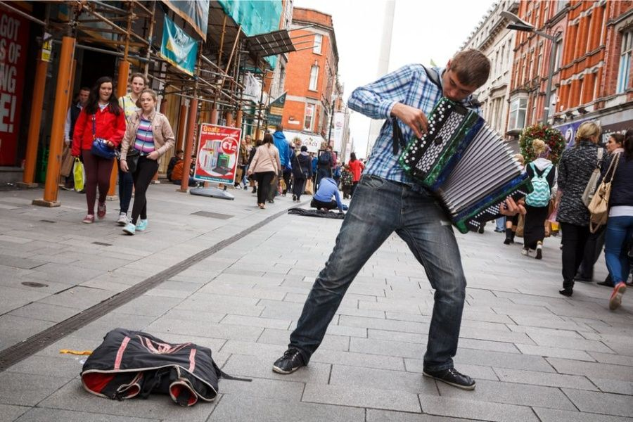 Exploring Grafton Street is one of the best things to do in Dublin Ireland