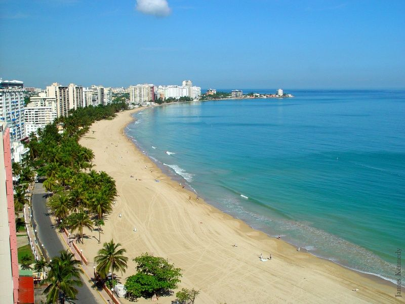 Going to the beach is one of the fun things to do in san juan puerto rico