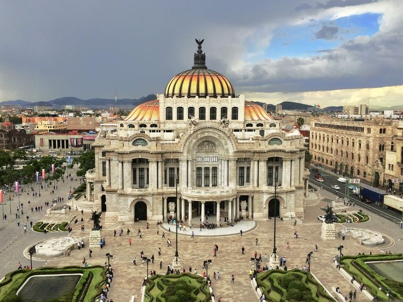 The charming Centro Historico is one of the best neighborhoods to stay in Mexico City
