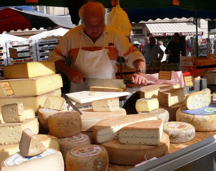 Tasting French cheese is an amazing thing to do in France