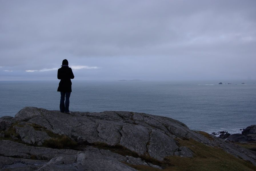 The northernmost point of the country, Malin Head, is an awesome place to visit in Ireland