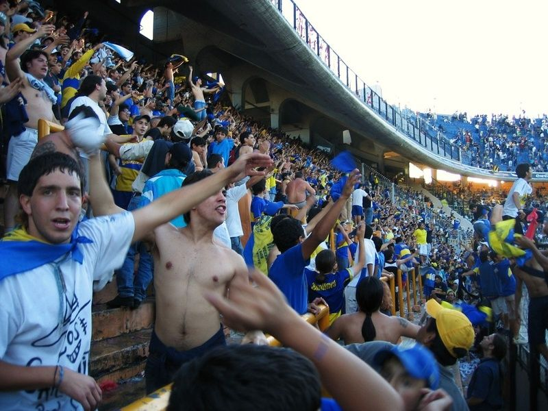 Cheering on the Boca Juniors is a great thing to do in Buenos Aires