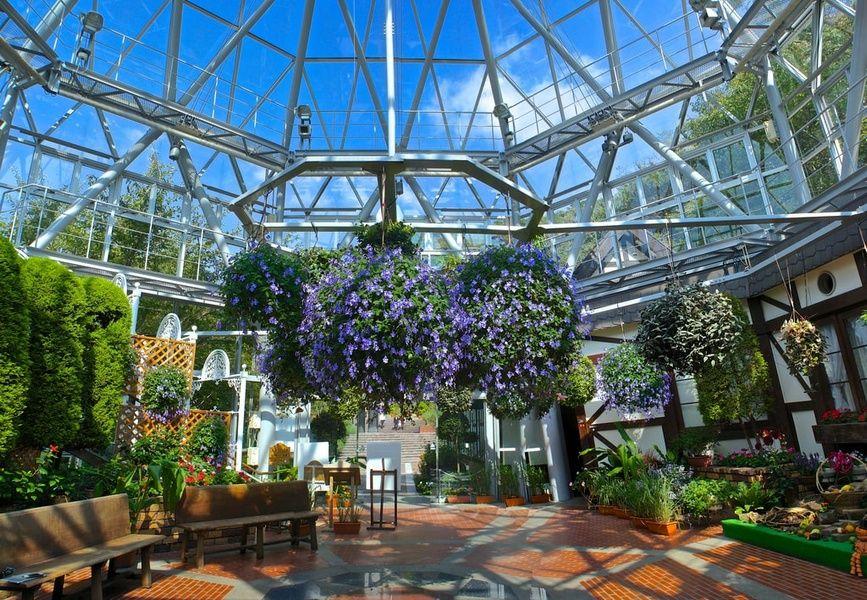 Nunobiki Herb Garden  is what to do in Kobe Japan
