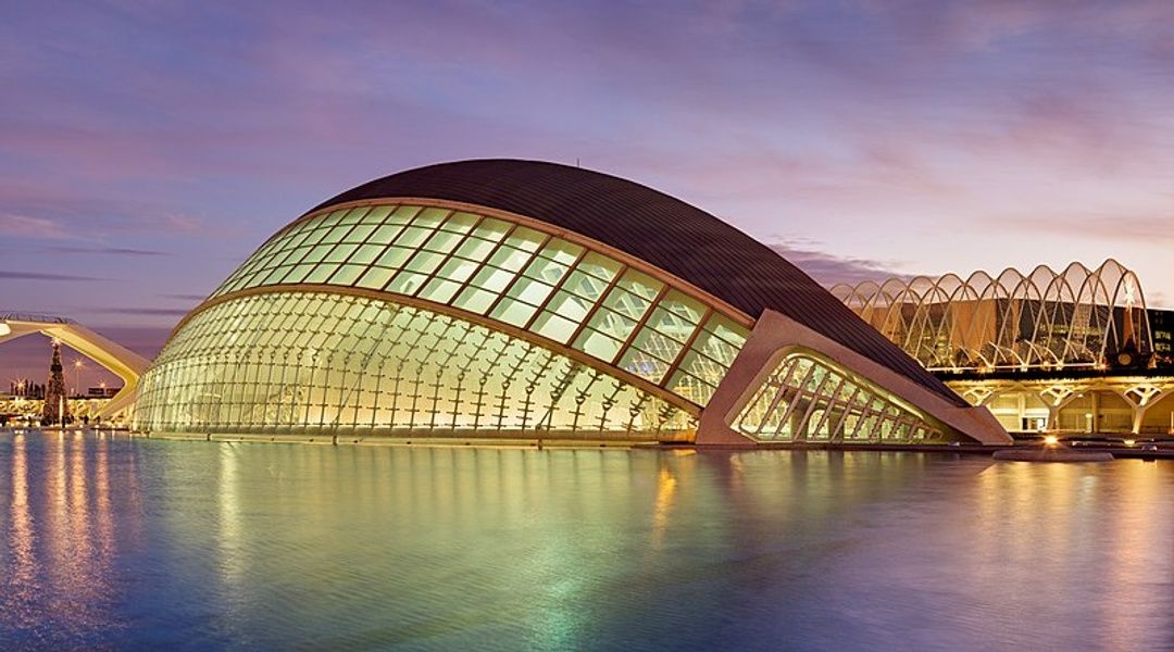 City of Arts and Sciences in Valencia is one of the best places to visit Spain