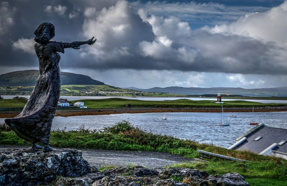 The town of Sligo is a cool place to visit for its ties to W.B. Yeats