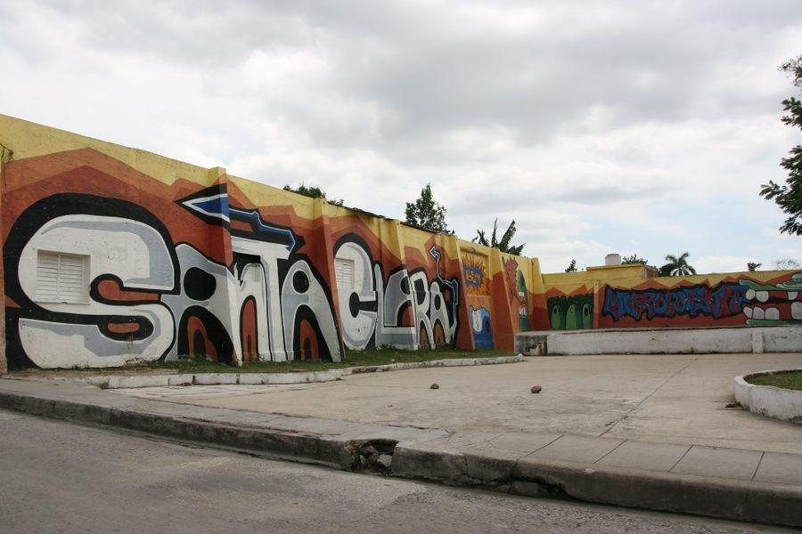 Graffiti things to do in Santa Clara Cuba
