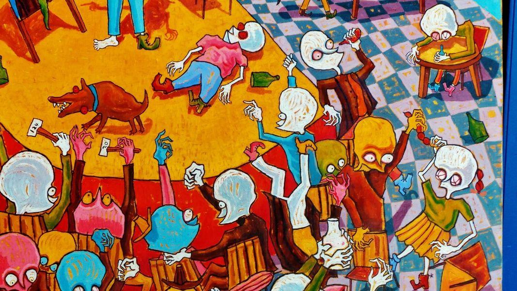 Cuba graffiti to bring home from Cuba