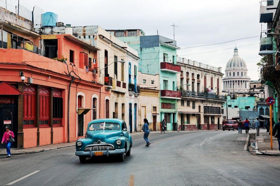 Car in Cuba transportation Havana