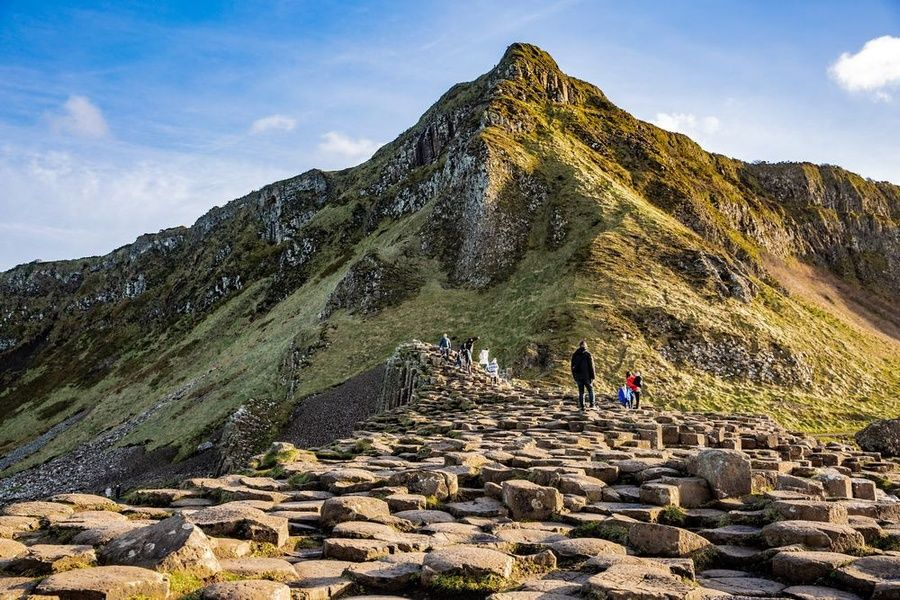 Exploring the Giant's Causeway is a great thing to do in Ireland with kids