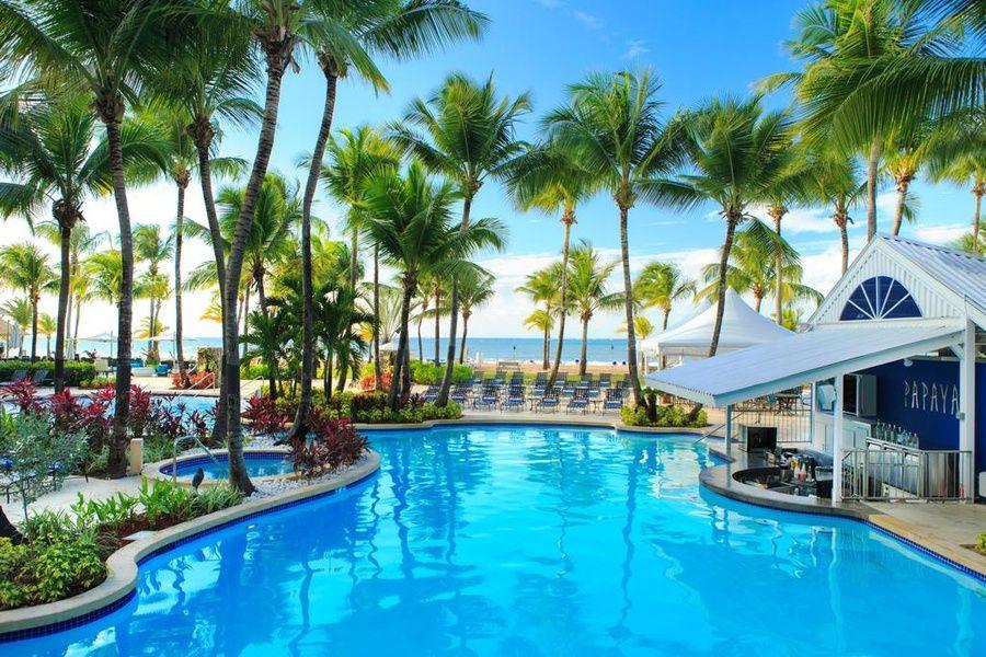 The beachside Courtyard Marriott Isla Verde Beach Resort is an incredible Puerto Rico family resort