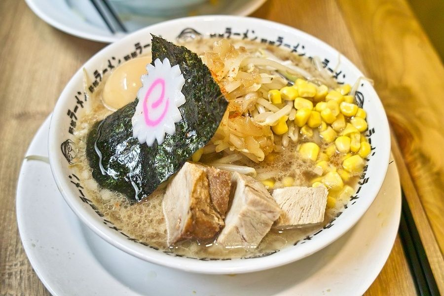 Japanese food ramen Kyoto Japan