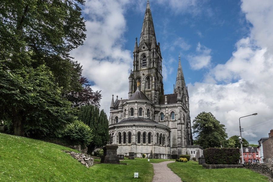 Paying respects at St. Finn Barre's Cathedral is a cool thing to do in Ireland
