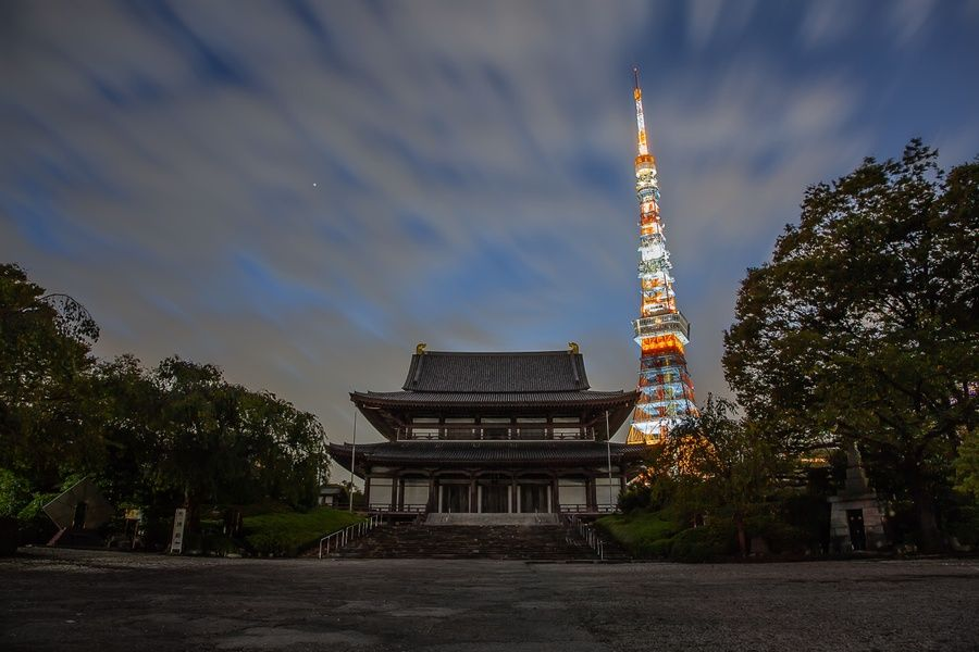 Zojoji Temple is a must visit if you're looking for what to do in Tokyo in 3 days