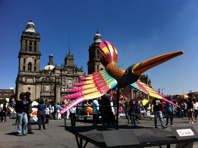 Visiting Zocalo aka Plaza de la Constitucion is what to do in Mexico City