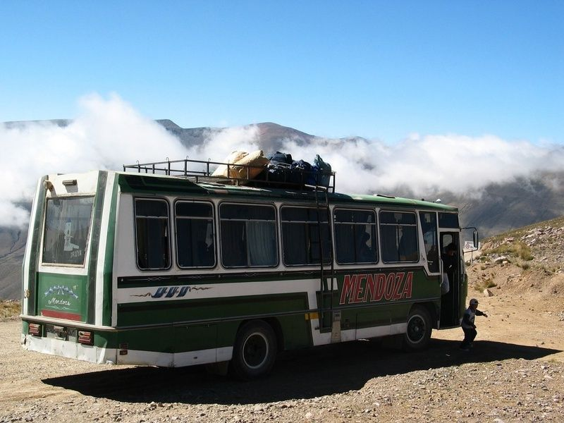 Buses are a good form of transportation in Peru