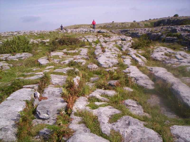 Exploring the Burren is one of the best things to do in Shannon Ireland