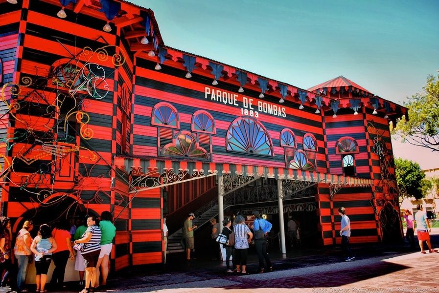 Visiting the Parque de Bombas is a top thing to do in Ponce Puerto Rico