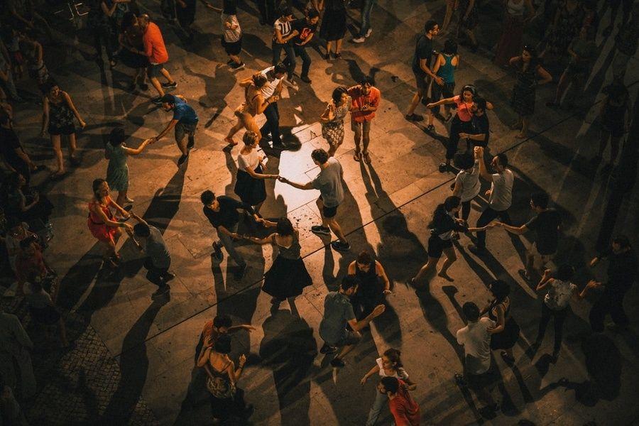 Salsa dancing Mexico City nightlife