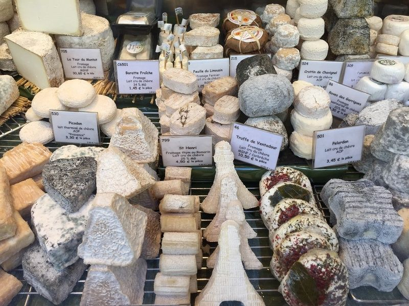 Cheese Things to Do in France