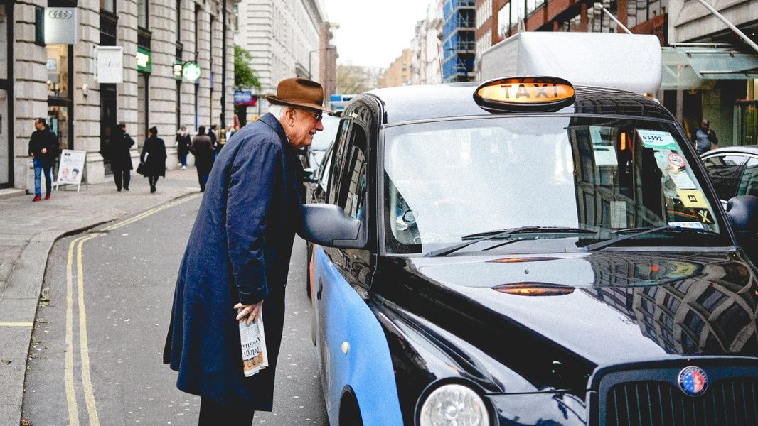 Taxis are a good form of London transportation