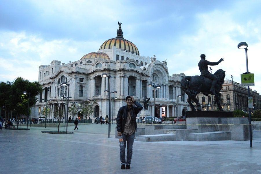 Palacio de Bellas Artes Mexico City Itinerary