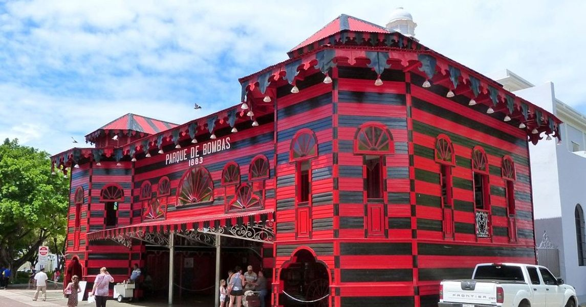 Parque de Bombas Things to Do in Ponce Puerto Rico