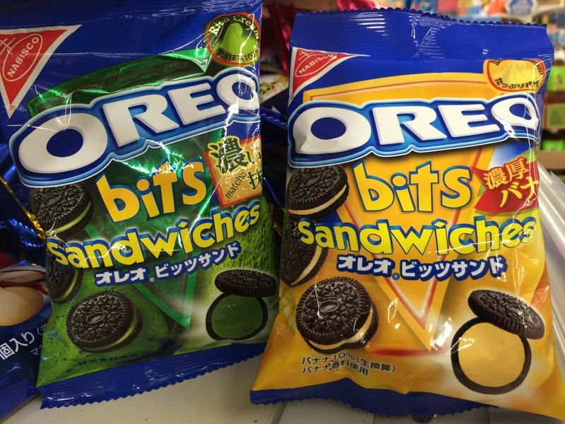 Oreos in Japan