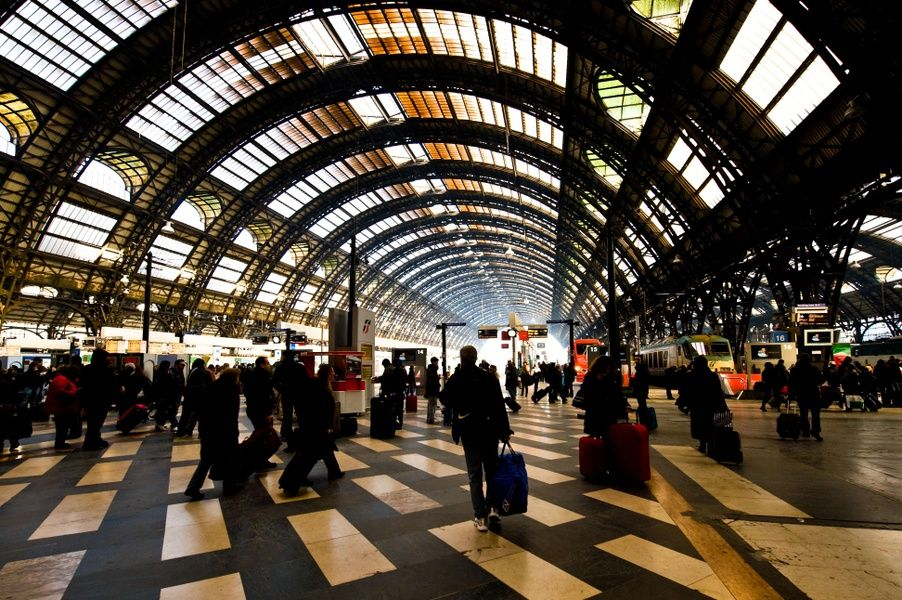 Milan train station Transportation in Italy