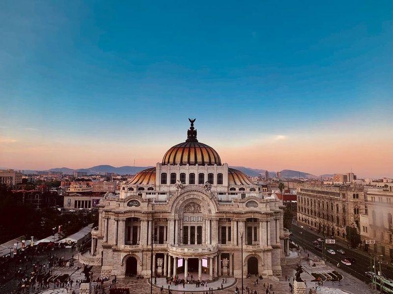 Palacio de Bellas Artes Mexico City Travel Agency