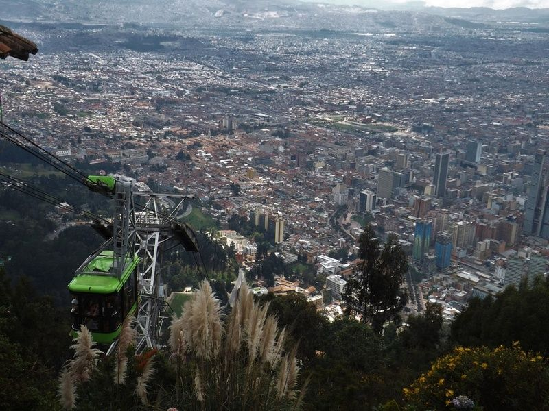 Monserrate Colombia Itinerary