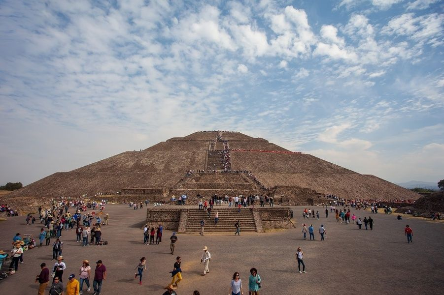 Pyramids of Teotihuacan Mexico City Itinerary