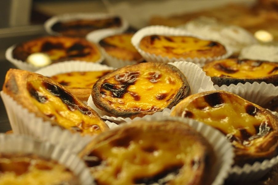 Trying pastéis de nata is a great thing to do in Portugal