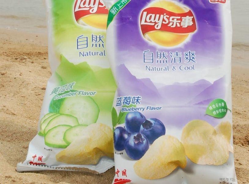Potato chips in Japan