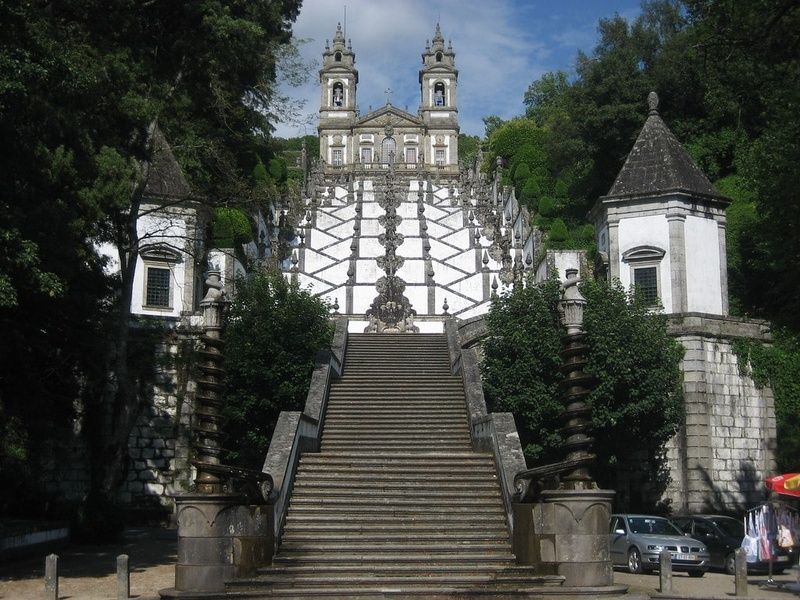 Visiting Bom Jesus do Monte is a great thing to do in Portugal
