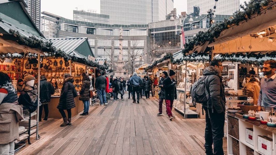 Christmas Market Best Time to Visit New York
