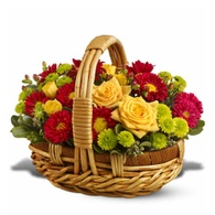 Thanksgiving flowers centerpieces yellow rose Thanksgiving flowers basket