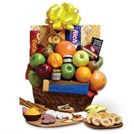 Thanksgiving flowers centerpieces snack and fruits Thanksgiving gift basket