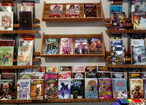 Open Doors: Outsider Comics and Geek Boutique, Seattle, WA