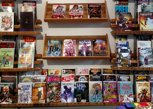 Image of Open Doors: Outsider Comics and Geek Boutique