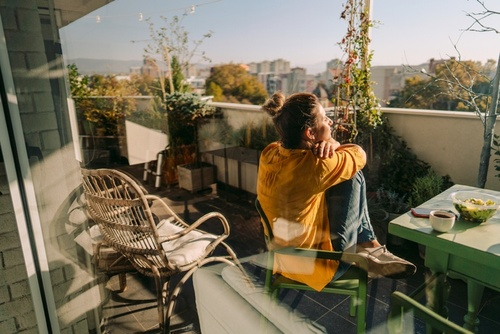 Image of Affordable Balcony or Patio Decor Hacks So It's Your Favorite Place at Home