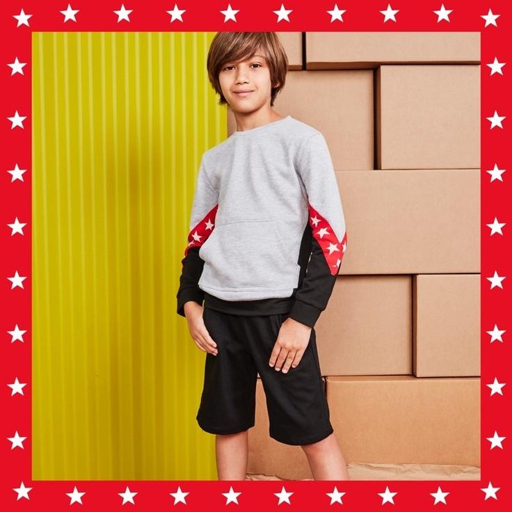 Boy wearing kidpik clothes