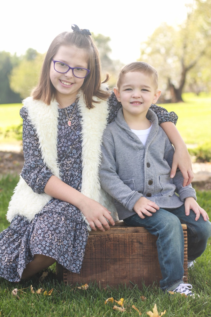 Boy and girl in kidpik subscription clothes