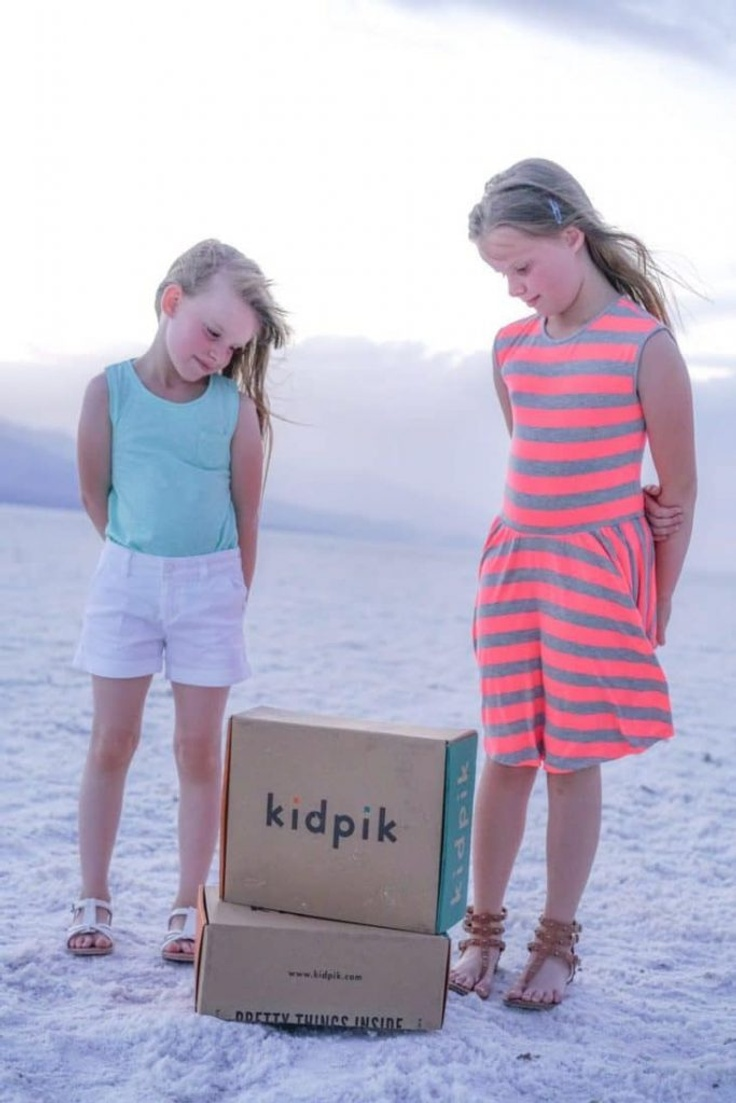two kids in kidpik clothes