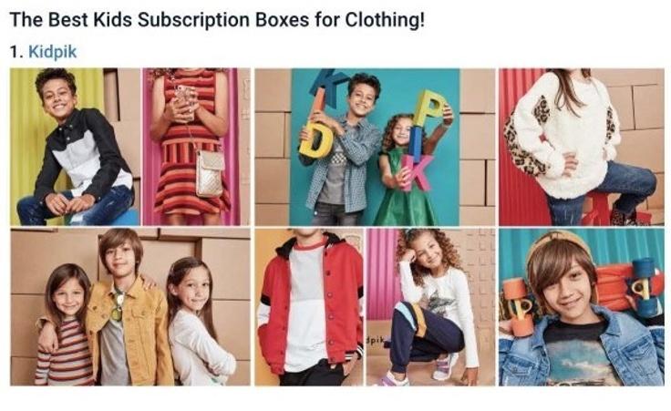 kidpik in the News: Hello Subscription