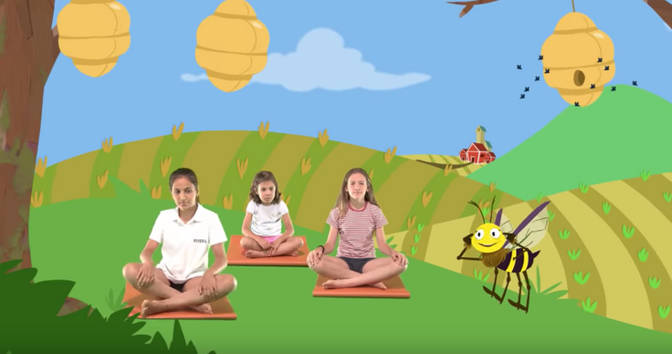 At Home Yoga for Kids