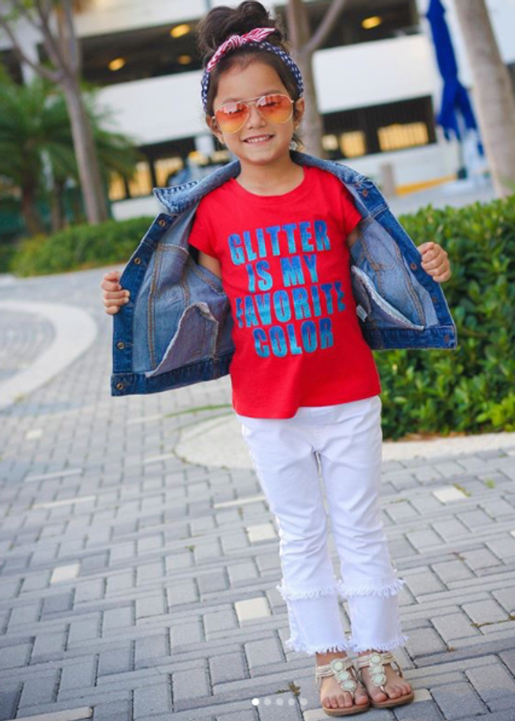 kid in kidpik monthly subscription outfit
